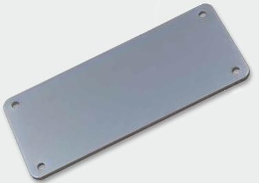 Tappo chiusura in alluminio Aluminium panel (TC020)