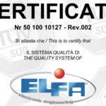 El.Fa: Qualità e certificazioni