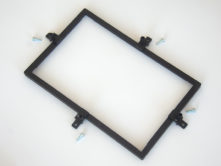 Cornice-fissaggio-display fixing 7 ″ displays frame