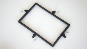 cornice di fissaggio display